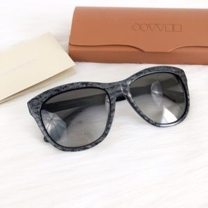 OLIVER PEOPLES Reign Gray Gradient Sunglasses